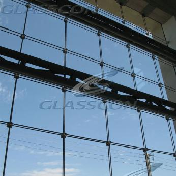 Cables Glazed Walls - Suspended Glazing