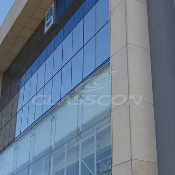 Spider Glass Curtain Wall on Steel Substructure Truss Glasscon 24.jpg