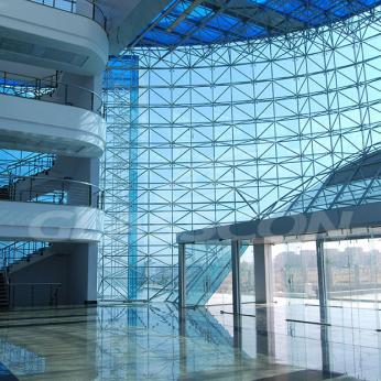 Spider Glass Curved Curtain Wall on MERO SPACE FRAME 3D TRUSS Glasscon 14.jpg