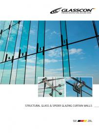 GLASSCON Spider Glass Curtain Walls